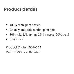 UGG Accessories - ✨New✨ UGG Pom Beanie